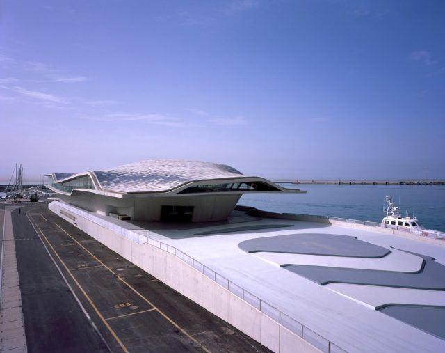 Salerno Maritime Terminali - Zaha Hadid